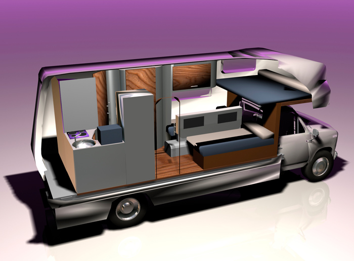 camping car equilibra studio design et communication grand ouest. Black Bedroom Furniture Sets. Home Design Ideas